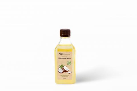 Кокосовое масло рафинированное 250 мл (OrganicZone)