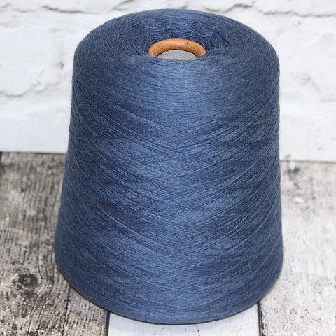 Меринос ZEGNA BARUFFA 2/30 CASHWOOL синий джинс
