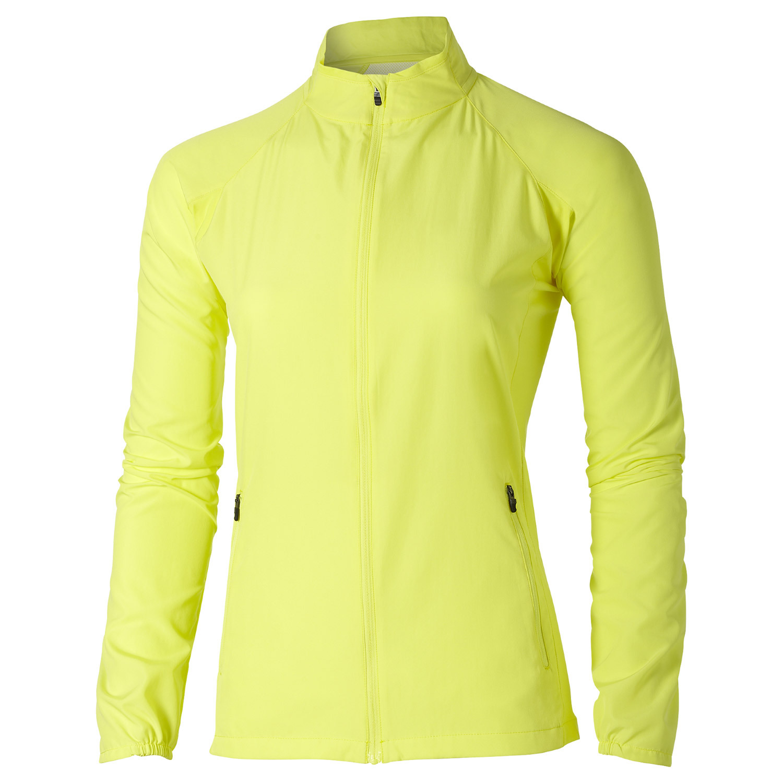 Asics Woven Jacket Ветровка женская для бега yellow (110426 0393)
