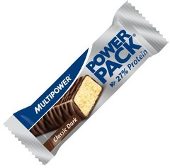 Батончик Multipower Power Pack Protein Bar тёмный шоколад