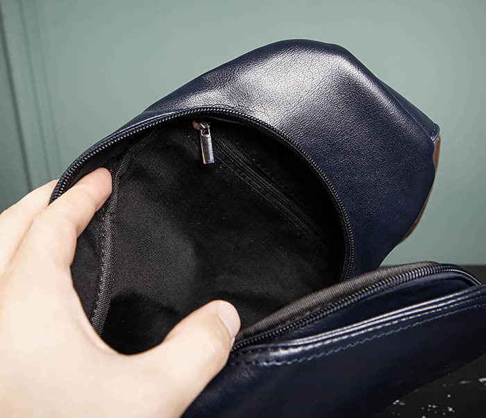 BAG484-3 Мужская сумка рюкзак с одной лямкой фото 10