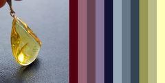цветовая палитра для одежды - несколько вариантов для примера