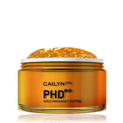 Массажная маска для лица с частичками 24-каратного золота PHD Gold Massage