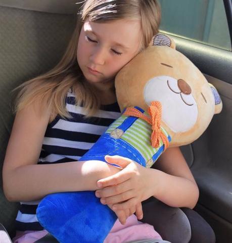 Подушка на ремень безопасности Мишка