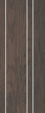 Декор Хоум Вуд коричневый мозаичный 20,1х50,2
