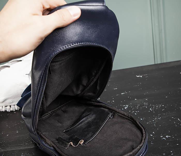 BAG484-3 Мужская сумка рюкзак с одной лямкой фото 11