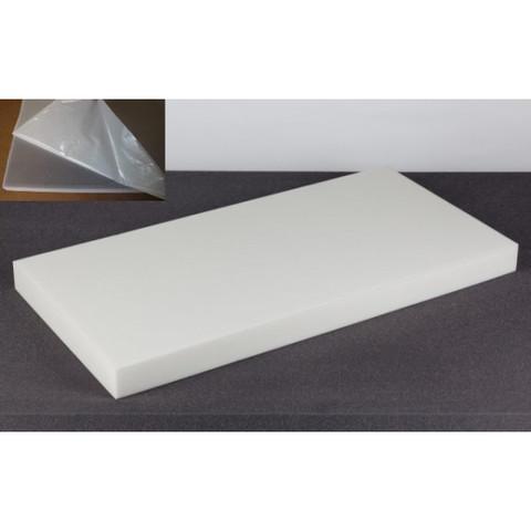 негорючая  акустическая панель ECHOTON FIREPROOF 100x50x7cm  из материала  BASOTECT белый с адгезивным слоем