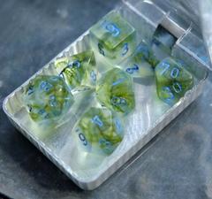 Крафтовые кубы – Зелёный с синим