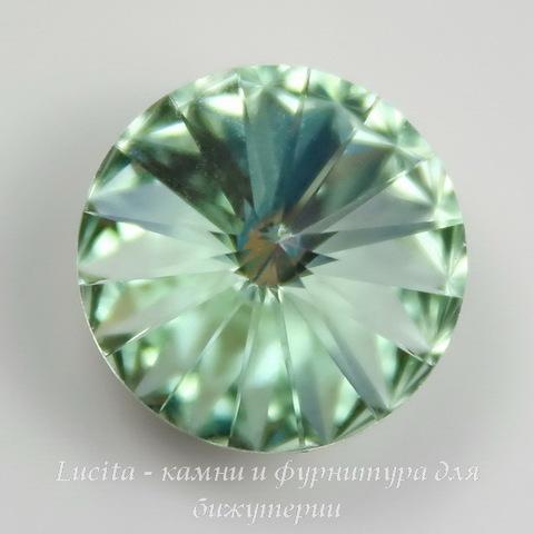 1122 Rivoli Ювелирные стразы Сваровски Chrysolite (14 мм)