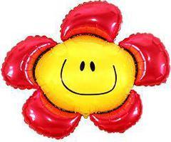 F Мини фигура Цветочек (солнечная улыбка) красный / Flower (14
