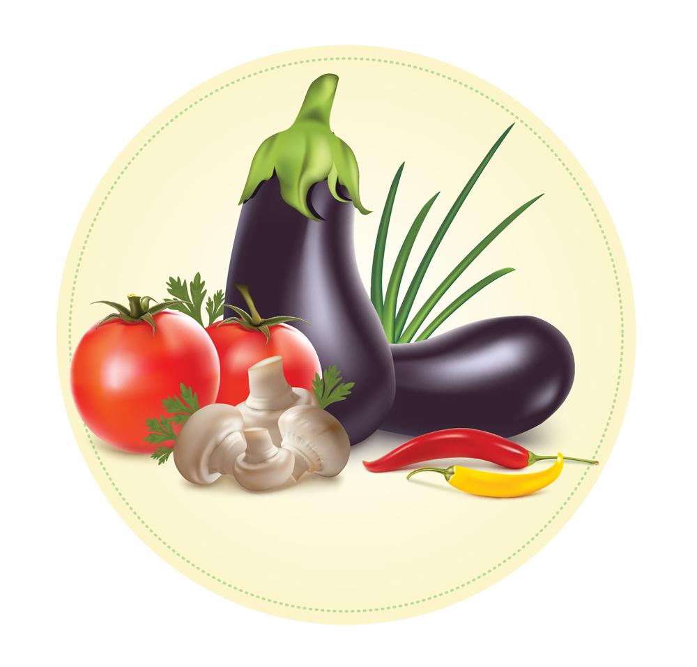Папертоль Натюрморт с овощами — главное фото сюжета.