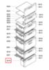 Ящик морозилки для холодильников Bosch (Бош) - 444024
