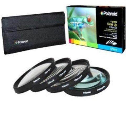 Набор из 4-х макролинз Polaroid Close UP Filter Kit +1,+2,+4 - 52mm