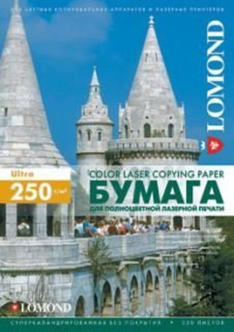 Двусторонняя матовая фотобумага Lomond для полноцветной лазерной печати , 250 г/м2, А3, 150 листов (0300431)