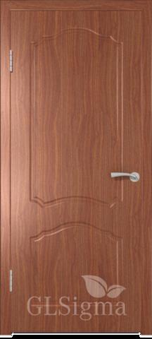 Дверь GreenLine Sigma-31, цвет итальянский орех, глухая