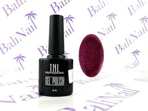 TNL Цветной гель-лак №008 - фиолетовый с блестками (10 мл.)