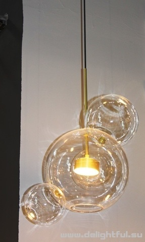 REPLICA BOLLE PENDANT LIGHT BUBBLE CHANDELIER BY GIOPATO COOMBES