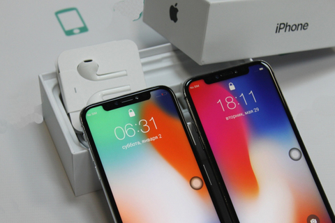 iPhone X Android Space Gray (MTK6595 4G LTE)