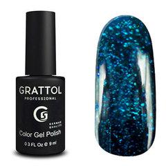 Grattol, Гель-лак Luxury Stones № 003, Emerald, 9 мл