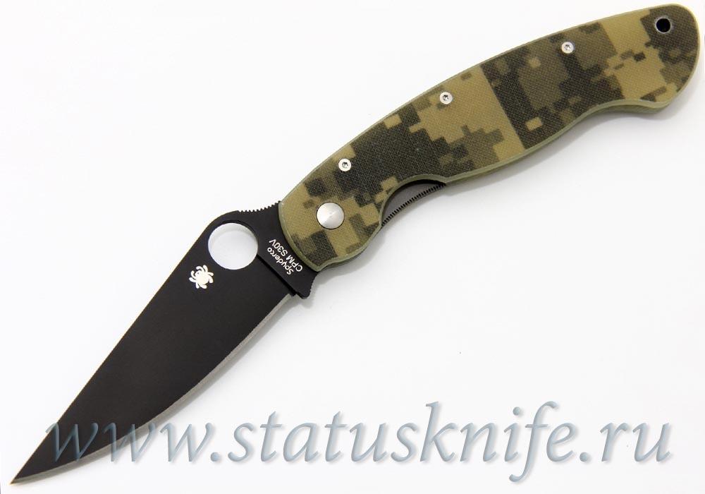 Нож Spyderco C36GPCMOBK Military