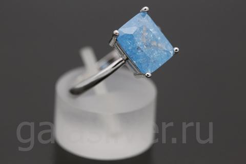 Кольцо с Нано-кристаллом из серебра 925