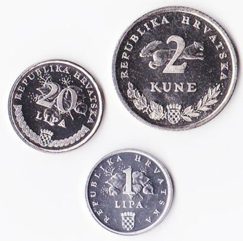 Хорватия набор 1995