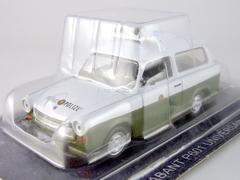 Trabant P601 Universal Kombi DDR 1:43 DeAgostini World's Police Car #23