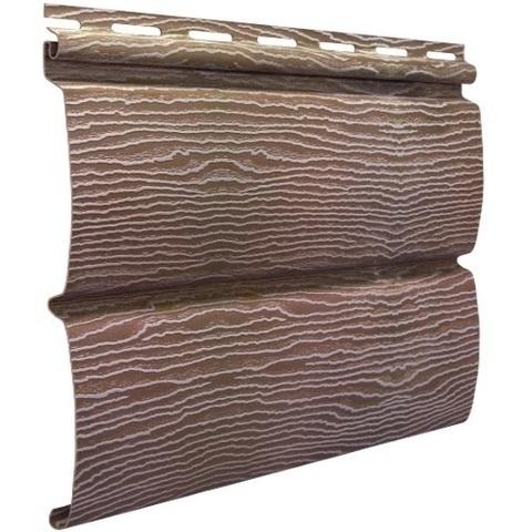 Сайдинг Ю пласт Тимберблок акриловый дуб натуральный 3400х230 мм