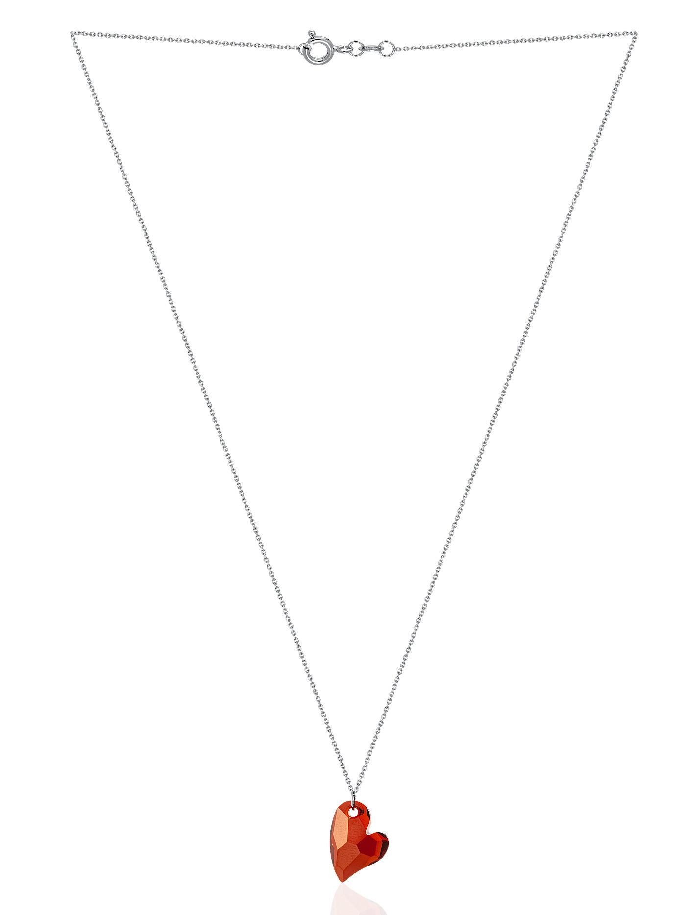 Ювелирная подвеска с кристаллом Swarovski