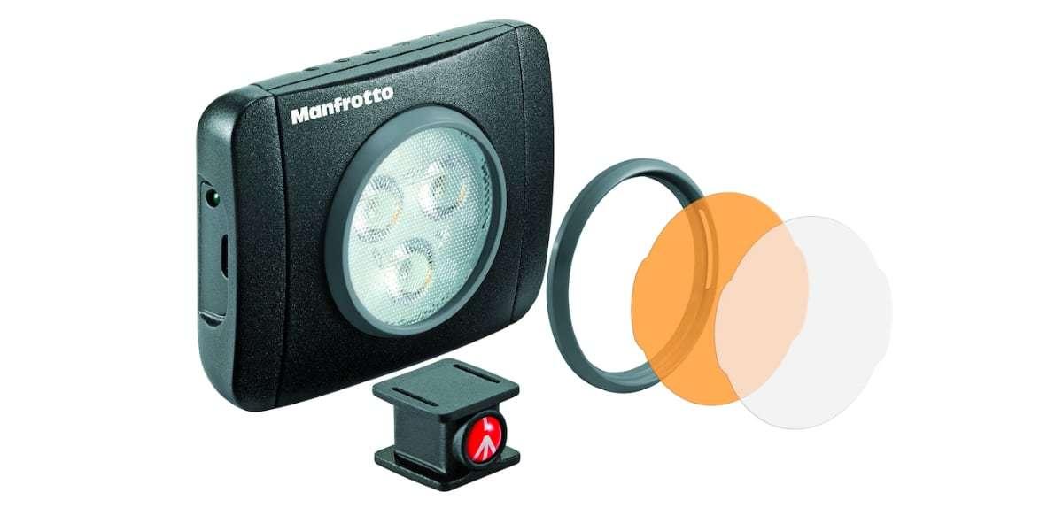 Осветитель светодиодный Manfrotto LED Lumie Play MLUMIEPL-BK линзы