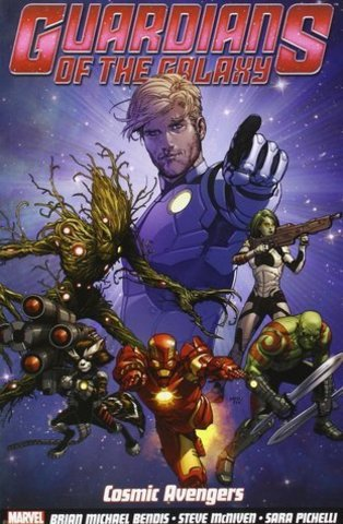 Guardians of the Galaxy Vol.1: Cosmic Avengers (Marvel Now)