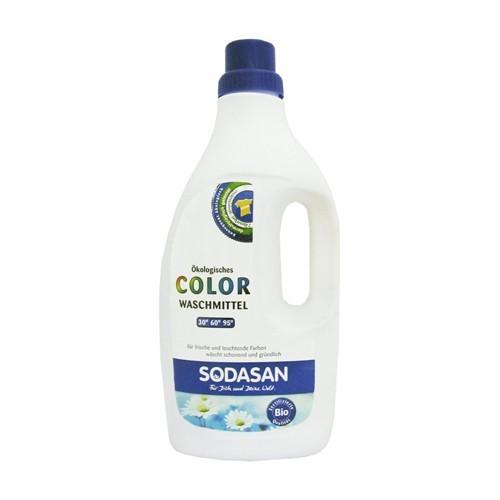 Жидкость, Sodasan, для стирки цветных вещей, 1,5 л