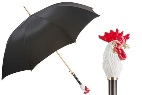 Зонт-трость Pasotti Rooster Umbrella, Италия (арт.479 Oxf-18 K59).