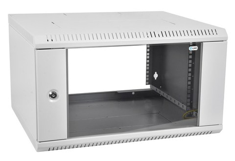 Шкаф ЦМО ШРН-Э-15.650 телекоммуникационный настенный разборный 15U (600 × 650) дверь стекло
