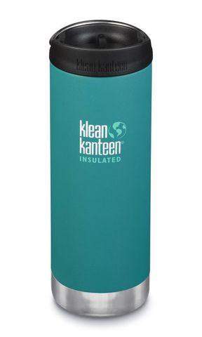 Термобутылка Klean Kanteen TKWide Cafe Cap 16oz (473 мл) Emerald Bay