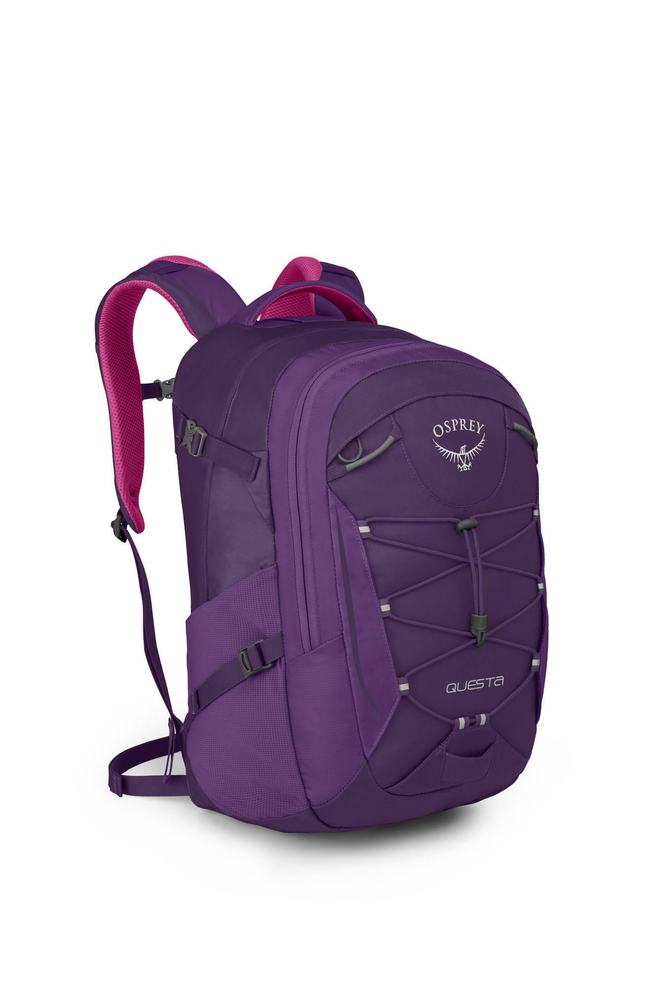 Городские рюкзаки Рюкзак городской женский Osprey Questa 27 Questa_27_Side_Mariposa_Purple_web.jpg