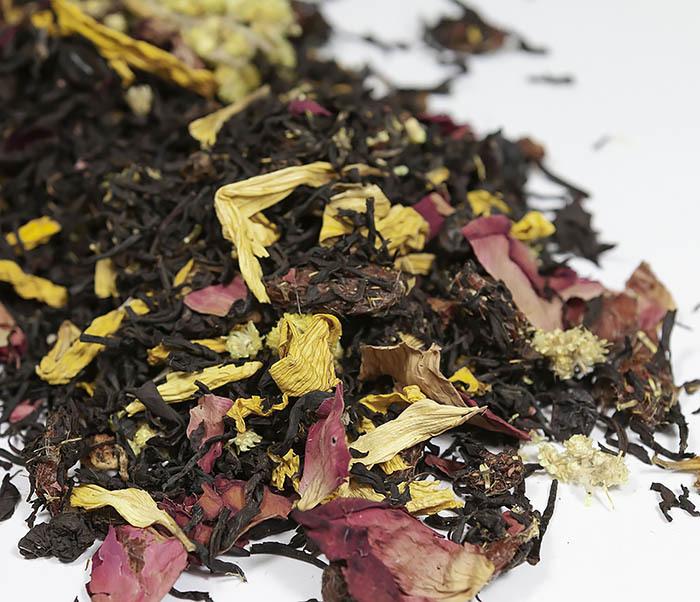 TEA-AR108 Черный ароматизированный чай «Вкус Ночи» (50 гр) фото 01