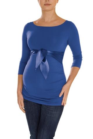 Блузка для беременных 01200 синий