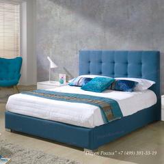 Кровать Dupen (Дюпен) 875 BELEN СИНЯЯ