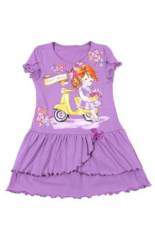 Basia Л902-3934 Платье для девочки лаванда