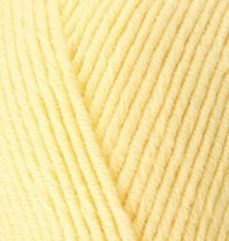 Пряжа Cotton gold (Alize) 187 Светлый лимон, фото