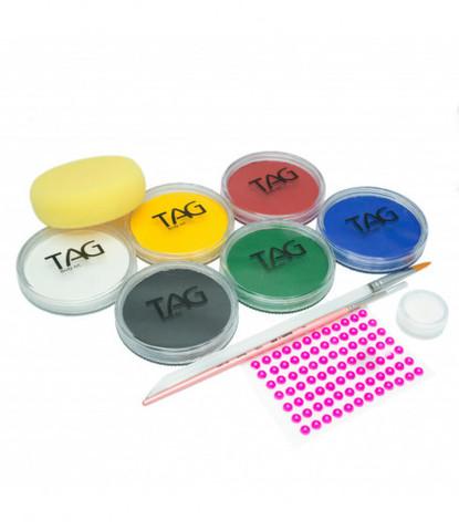 Для работы минимальный (6 регулярных цветов по 32 гр)