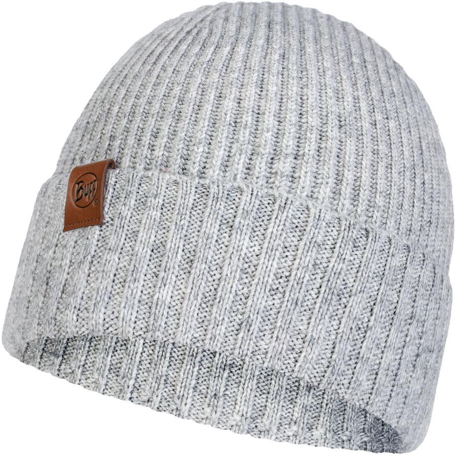 Шапки с отворотом Вязаная шапка Buff Hat Knitted Biorn Light Grey 121751.933.10.00.jpg