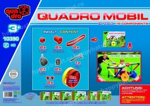 Конструктор Quadro Мобиль 2 колеса арт. 10390