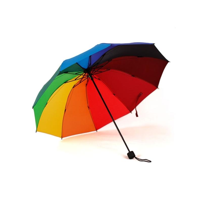 Женский складной зонт