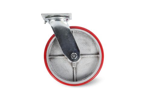 Колесо большегрузное поворотное PU (SCp 55)  125мм