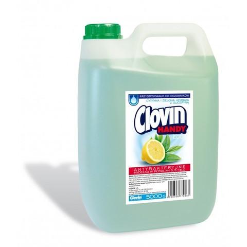 Clovin Handy жидкое мыло Лимон и Зеленый чай 5л