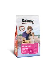 Корм для взрослых собак средних и крупных пород, Karmy Sensitive Medium & Maxi, в возрасте старше 1 года, с чувствительным пищеварением