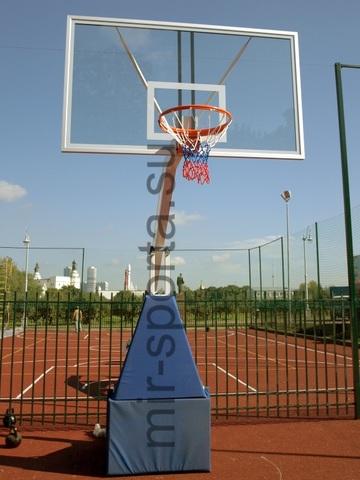 Уличная баскетбольная стойка