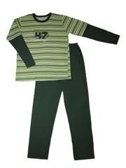 Пижама 446 Таро серо-зеленая